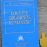 Drept parlamentar romanesc Mihai Constantinescu Ioan Muraru