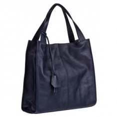 Brastini La Laura piele geanta pe umar albastru inchis - Geanta Dama
