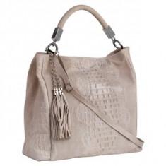 Brastini La Francesca piele geanta pe umar crem - Geanta Dama