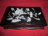 Cutie,caseta  pentru bijuterii  in stil etnografic chinezesc 25x16 cm