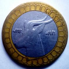 1.065 ALGERIA ANTILOPA 50 DINARS 1992 BIMETAL, Africa