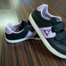 Adidasi copii Le Coq Sportif masura 34, Culoare: Negru