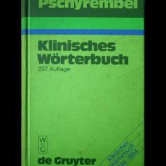 PSCHYREMBEL KLINISCHES WORTERBUCH - WALTER DE GRUYTE - DICȚIONAR CLINIC - 1994