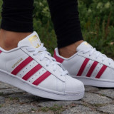 Adidasi Adidas Superstar W-Adidasi Originali-B23644 - Adidasi dama, Culoare: Din imagine