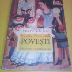 FRATII GRIMM-POVESTI COLECTIA PRIMA MEA BIBLIOTECA 1968 ILUSTRATII DONE STAN - Carte de povesti