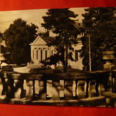 Ilustrata Ramnicu Valcea, circulat 1958, stampila rosie - Carte Postala Muntenia dupa 1918, Circulata, Fotografie
