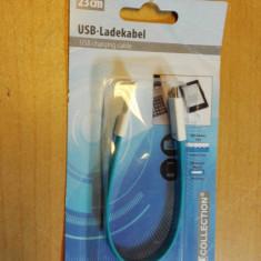 Cablu Usb - mini Usb 23 cm - Cablu de date