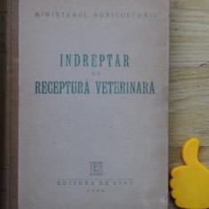 Indreptar de receptura veterinara - Carte Medicina veterinara