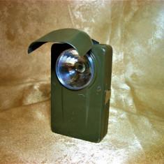 Lanterna mlitara M-Force Italy, colectie, cadou, vintage
