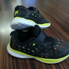 Adidasi copii Fila masura 30, Culoare: Negru