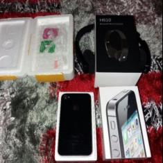 iPhone 4s Apple black, Negru, 16GB, Neblocat