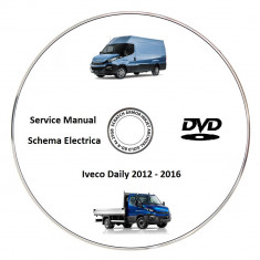 Iveco Daily 2016 Service Manual + Schema Electrica