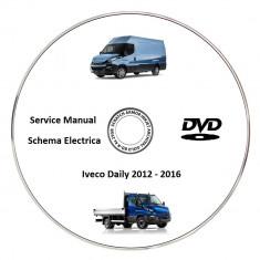 Iveco Daily 2016 Service Manual + Schema Electrica - Manual auto