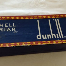 Cutie pipa Dunhill Limited Shell Briar vintage cu certificat de garantie - Accesorii Pipa