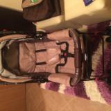 Carucior pentru nou nascuti cu maner reversibil DHS baby