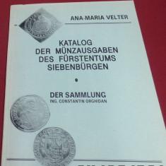 Catalog Monede, Ana Maria Velter, lb. germana