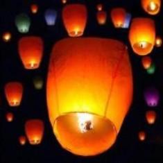 Lampioane Zburatoare Diferite Culori Super Premium Lampion 100%
