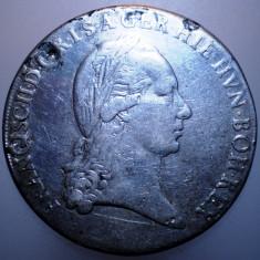 G.245 AUSTRIA ITALIA MILANO FRANZ II CROCIONE KRONENTHALER TALER 1793 M ARGINT - Moneda Medievala, Europa