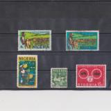 TS - TIMBRE NIGERIA - CM7 - Timbre straine, Natura, Stampilat