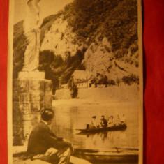 Ilustrata Calimanesti - Vedere spre Olt, circulat 1986 - Carte Postala Oltenia dupa 1918, Circulata, Printata