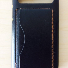 Husa Blackberry Clasic Q10 piele! - Telefon mobil Blackberry Q10, Negru, Neblocat