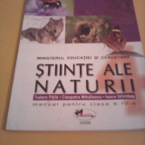 MANUAL STIINTE ALE NATURII CLASA IV CLEOPATRA MIHAILESCU ARAMIS 2006 - Manual scolar, Clasa 4, Alte materii