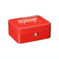 Cutie metalica de valori, caseta de bani 200 X 160 latine X 90 mm - Seif