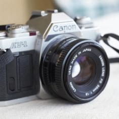 Aparat foto pe film, Canon AV 1 50mm 1.8 - Aparat Foto cu Film Canon