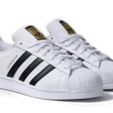 Adidas Superstar alb cu negru unisex marimi de la 36 la 44 - Adidasi dama, Marime: 37, 38, 39, 40, 41, 42, 43
