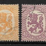 FINLANDA 1917, Stampilat
