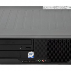 Fujitsu Esprimo E7935 Intel C2D E8500 3.16 GHz 4 GB DDR 2 250 GB HDD DVD-ROM SFF Windows 10 Pro - Sisteme desktop fara monitor