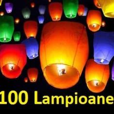Lampioane Zburatoare Colorate 100 Buc