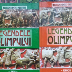 Legendele Olimpului 2 vol./an1999/467pag/ilustratii- Al.Mitru - Carte mitologie