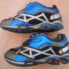 Geox Respira Fighter 2 marime 33 - Adidasi copii Geox, Culoare: Albastru, Baieti, Piele sintetica