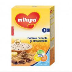 Cereale copii MILUPA cu lapte si Stracciatella 250g de la 1 an