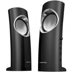 Sistem audio 2.0 Omega OG210C CASSINI 6W Black - Boxe PC