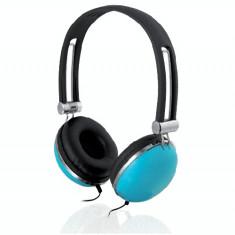 Casti Ibox D005 blue, Casti On Ear, Cu fir, Mufa 3, 5mm