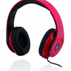 Casti Ibox D13 red, Casti On Ear, Cu fir, Mufa 3, 5mm