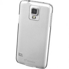 Husa Protectie Spate Cellularline INVISIBLEGALS5MIN Transparent pentru SAMSUNG Galaxy S5 Mini - Husa Telefon