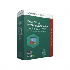Kaspersky Internet Security Multi-Device 2017 European Edition Renewal Electronica 1 an 2 devices - Antivirus