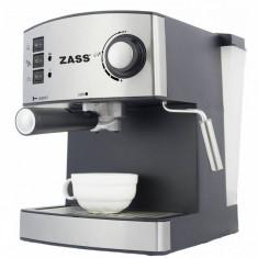 Espressor manual Zass ZEM 04 1.6l 850W argintiu, 15 bar