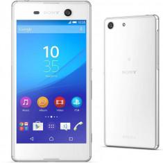 Smartphone Sony Xperia M5 E5663 Dual SIM 16GB LTE 4G White - Telefon mobil Sony