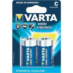 Varta VARTA alcaline batteries R14 (typ C) 2pcs longlife - Baterie Aparat foto