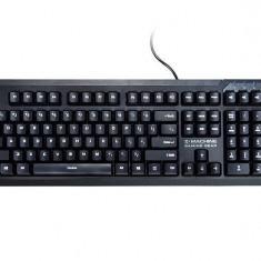 Tastatura Zalman ZM-K650WP PS/2 waterproof neagra, Gaming