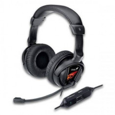 Casti gaming Genius HS-G500V Black - Casca PC