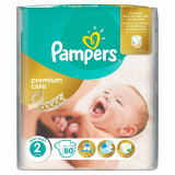 Scutece PAMPERS Premium Care 2 New Baby Value Pack 80 buc