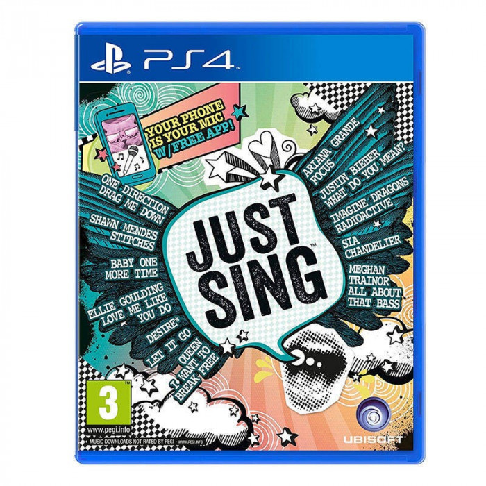 Joc consola Ubisoft Ltd Just Sing PS4 foto mare