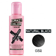 Vopsea par semi-permanenta Profesionala CRAZY COLORS 002284-1 Negru Intens