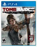 Joc consola Crystal Dynamics Tomb Raider Definitive Edition PS4, Actiune, 18+