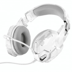 Casti gaming Trust GXT 322W White Camouflage